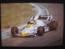 Photo Williams Honda FW09 1984 #6 Keke Rosberg GP F1 Zandvoort (NL) #2