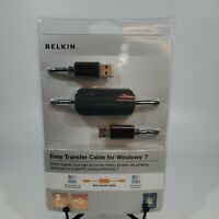 Belkin Easy Transfer Cable for Windows 7 8ft 2.4M USB 2.0  NEW & ORIGINAL
