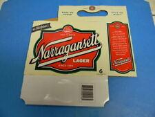 New listing Older Narragansett Beer Bottle 6 Pack Holder Nbc Logo Providence Rhode Island