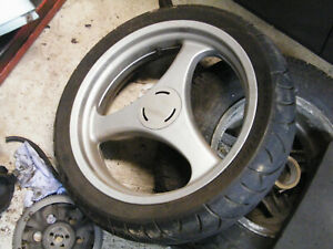 BMW R1100rt Rear wheel