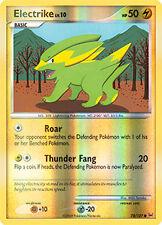 Electrike Reverse Holo Common Pokemon Card Pt1 Platinum 74/127