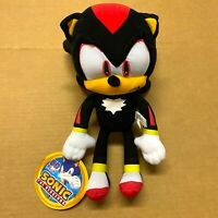 """Sonic the Hedgehog Plush SHADOW 12"""" Inches Authentic Stuff Toy"""