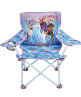 Jakks Pacific Foldable Camp Chair Frozen 2 Fold N Go Chair Sturdy Metal Const...