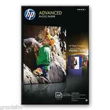 HP Papel Fotográfico Brillante de Calidad Avanzada de 100 hojas sin bordes 250gsm 10x15cm Nuevo