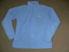 WOMANS SKY BLUE HIKING FLEECE / JUMPER FROM CRAGHOPPERS - SIZE 10 - ACTIVE WEAR