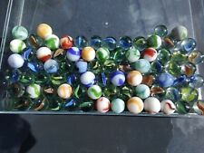 Old Glass Marble Collection ~ over 70