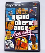 GRAND THEFT AUTO: VICE CITY Playstation 2 PS2 Game GTA COMPLETE w/MANUAL 2002