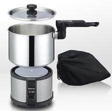 Magic Chef MEK-1300S Electric Multi Cooker Ramen Noodle Pot Portable Free-Volt