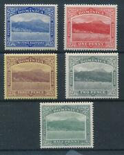 [52816] Dominica good lot MH Very Fine stamps