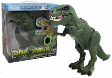 Kinder Spielzeug gehender Dinosaurier Tyrannosaurus mit Licht &Sound! Neu & Ovp!