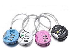 Convenient 3-Digit Combination Travel Luggage Suitcase Padlock Lock Security  TO