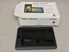 """MAYLONG 7"""" MOBILITY TABLET M-270 BLACK (NOT WORKING)"""