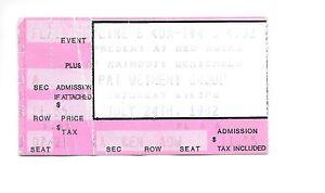 Pat Metheny Group ticket stub July 24 1982 Red Rocks Colorado