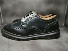 Dr Martens Kelvin II Smooth Leather Brogue Shoes Wingtips Size M7 / W8