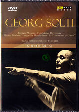 DVD Sir Georg Solti in Rehearsal Wagner Tannhäuser Overture Berlioz pugno March