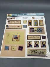 Top Line Creations Lifes A Party Scrapbook Page Kit  12x12 Die Cut TLC 2004