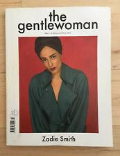 The Gentlewoman Magazine Issue #14 Autumn Winter 2016 featuring Zadie Smith