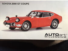 AUTOart Toyota 2000 GT Coupe 1/18   1.Edition Diecast