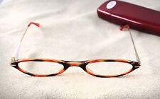 Reading Eye Glasses Cheaters Magnivision Rose Tortoise Shell +1.50 # 521 W Case