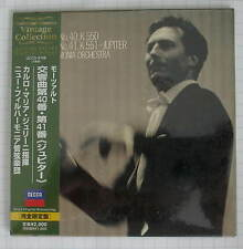 CARLO MARIA GIULINI - Mozart Symphony No. 40 & 41 JAPAN MINI LP CD NEU UCCD-9188