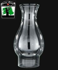 """3"""" X 8 5/8"""" Clear GLASS  Oil Lamp ~ CHIMNEY ~ with Flare Top ~ #G7937"""