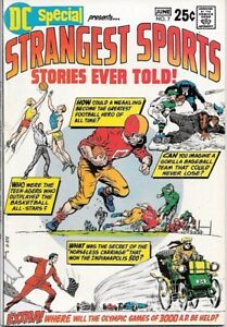 DC Special Comic Book #7 Strangest Sports Stories DC  1970 VERY FINE/NEAR MINT