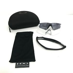 Oakley Sports Sunglasses Set Changeable Clear Lens & Case Cycling 481680