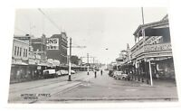 .c1930s / 1940s VALANTINE'S REAL PHOTO POSTCARD, MITCHELL STREET, BENDIGO