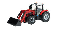 Tomy Britains Massey Ferguson 6616 Toy Tractor Includes 3 buckets -- 1:32 Scale
