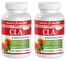 Body Toner - CLA 1250mg - Fast Weight Loss - Herbal Blend - 2 B 180 Ct