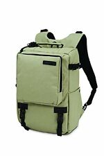 Pacsafe Camsafe Z16 Anti-Theft Camera and 13-Inch Laptop Backpack, Slate Green 1
