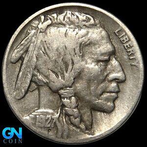 1927 D Buffalo Nickel  --  MAKE US AN OFFER!  #K7800