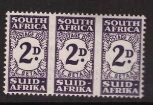 South Africa- King George VI- 1943 Postage Due Units 2d   - Mounted Mint SG D32