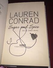 Lauren Conrad Signed Book Sugar And Spice