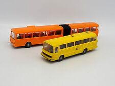 Wiking 1/87 HO - Lot de 2  bus Autobus Mercedes