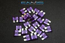 (25) PACK ATC 3 AMP FUSES ATO FUSE BLADE STYLE CAR BOAT AUTOMOTIVE AUTO ATC3
