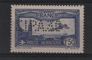 "FRANCE TIMBRE STAMP AVION 6 c "" 1F50 OUTREMER EIPA 30 "" NEUF xx LUXE SIGNE T987"