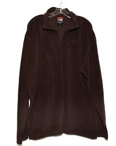 The North Face Brown Fleece 1/4 Zip Lightweight Pullover Mens Shirt Size XXL
