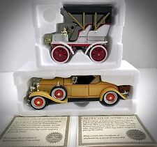 NMMM 1904 Cadillac Model B & 1931 Cadillac Roadster Diecast CADBO4 & CADR31