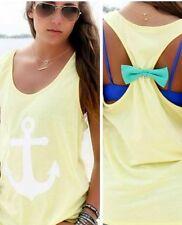 Fashion Womens Cute Summer Vest Top Sleeveless Blouse Casual Tank T-Shirt Tops