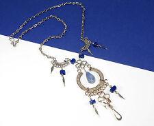 Lovely Handmade Peruvian Soladite Alpaca Silver Necklace - Boho Jewellery