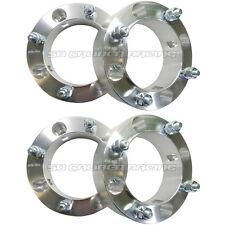 """2"""" in Wheel Rim Spacers CNC Aluminum 2014 Polaris RZR XP 1000 12x1.5 Stud x4 New"""