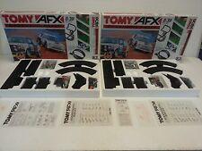 TOMY AFX AURORA RACING X2 SETS Daredevil Rally. NEW UNUSED  X2 SETS RARE VINTAGE