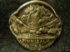 Pinnisalm used hiking medallion stocknagel badge G1252