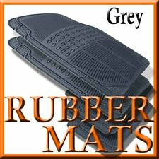 Fits Toyota PRIUS ALL WEATHER GREY RUBBER FLOOR MATS