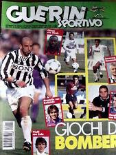 Guerin Sportivo 15 1996 Bergomi tra passato e futuro - Giochi di bomber  [GS24]