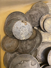 More details for mixed lot of pre 1920 silver coins 474 grams job lot