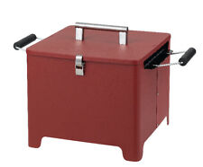 Tepro 1143 Chill&Grill Holzkohlengrill Cube rot
