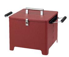TEPRO 1143 Holzkohlengrill Kohle Grill Cube rot UVP 69 95