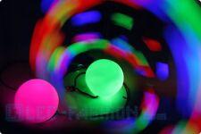 2er-Set Leuchtpoi mit LEDs LED-Pois  Leuchteffekt  akrobat sommer park